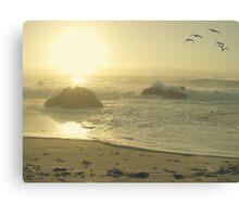 Serenity at the shores Canvas Print
