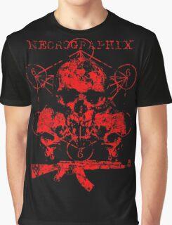 Skulls & Guns Graphic T-Shirt