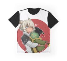 Y'shtola and Tonberry Graphic T-Shirt