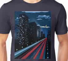 Night City Road Unisex T-Shirt