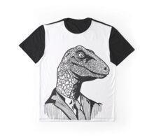 Business Raptor Graphic T-Shirt