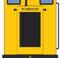 Plymouth Narrow Gauge Locomotive  Sticker
