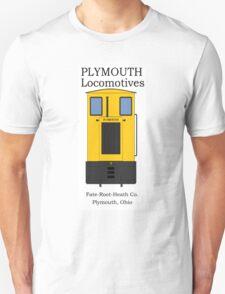 Plymouth Narrow Gauge Locomotive  Unisex T-Shirt
