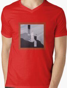 Sharp Mens V-Neck T-Shirt