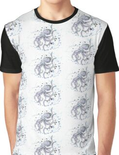 Inky Octopus Graphic T-Shirt