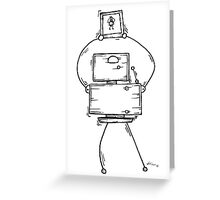 Eight the robot Greeting Card