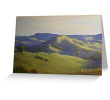 Warrigal after Spring Rain - Oil Painting Greeting Card