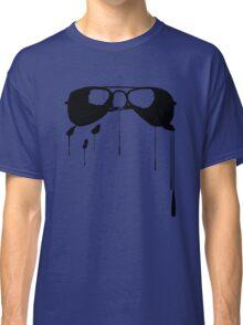 Splatter Sunglasses (black) Classic T-Shirt