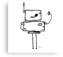 Print Screen the robot Canvas Print