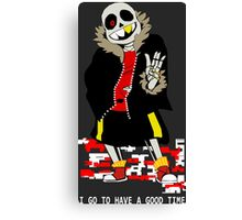 I go to have a good time Canvas Print