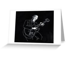 blues #10 Greeting Card