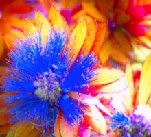 Surreal Flowers Sticker