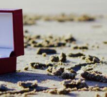 Ring on the Beach Sticker