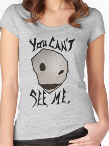 Majora's Stone Mask Women's Fitted Scoop T-Shirt