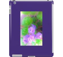 Violets are blue? iPad Case/Skin