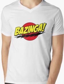 Zabinga Mens V-Neck T-Shirt
