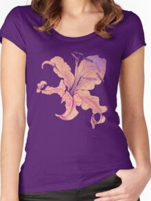 golden lilies Women's Fitted Scoop T-Shirt