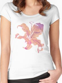 golden lilies Women's Fitted Scoop T-Shirt
