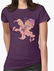 golden lilies Womens Fitted T-Shirt