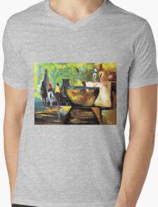 Horsemen Mens V-Neck T-Shirt
