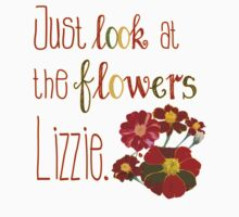 Just Look at the Flowers Lizzie One Piece - Short Sleeve
