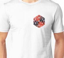 D20 Red/Black Unisex T-Shirt