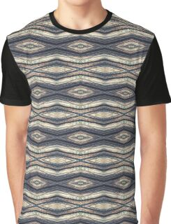 Horizontal Forest Diamond Stripes Graphic T-Shirt