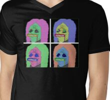 Metal VHS Dude Mens V-Neck T-Shirt