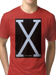 Malcolm X Movie Poster Tri-blend T-Shirt