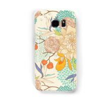 Peony Flower Pattern Samsung Galaxy Case/Skin