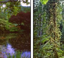 VANCOUVER ISLAND DIPTYCH Sticker