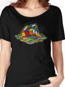 Big Bang theory - Rubik's cube Women's Relaxed Fit T-Shirt