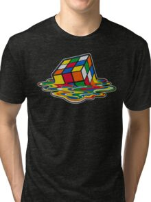 Big Bang theory - Rubik's cube Tri-blend T-Shirt
