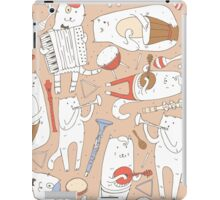 Cats band iPad Case/Skin