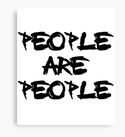People Are People - Depeche Mode Canvas Print