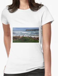 McMasters Beach Central Coast NSW Australia Womens Fitted T-Shirt