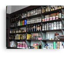 Old Fashioned Pharmacy Canvas Print