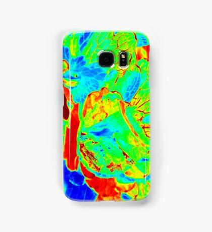 Red Veins Samsung Galaxy Case/Skin