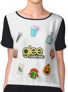 Glee Forever! Events Chiffon Top