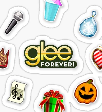 Glee Forever! Events Sticker