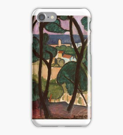 View of Collioure , Henri Matisse iPhone Case/Skin
