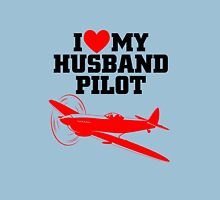 I love my Husband Pilot Unisex T-Shirt