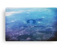 Location Not Avaliable Canvas Print