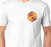 D20 Red/Orange Unisex T-Shirt