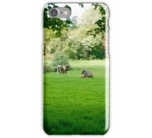 Barely Mooving, The Pair iPhone Case/Skin