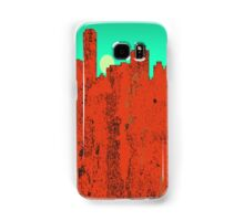 Adelaide Skyline - RED Samsung Galaxy Case/Skin