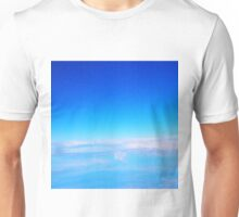 From the plane ...  flying to Melbourne from Ballina NSW Australia Unisex T-Shirt