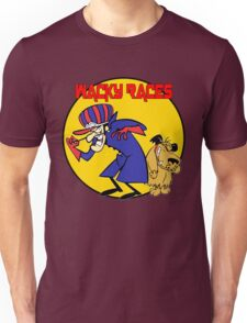 Wacky Races Cartoon Unisex T-Shirt
