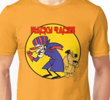 Wacky Races Cartoon Unisex T-Shirt