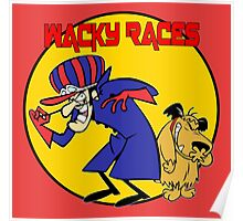 Wacky Races Cartoon Poster